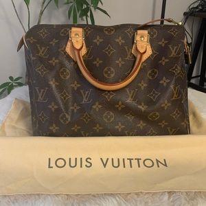 Monogram Louis Vuitton Speedy